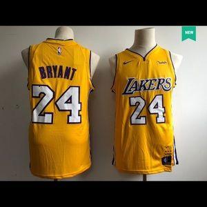NBA Lakers Kobe Bryant No. 24 basketball jersey